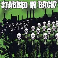 Stabbed in Back - A Portrait of Noise (Cover Artwork)