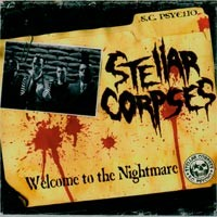 Stellar Corpses - Welcome to the Nightmare (Cover Artwork)