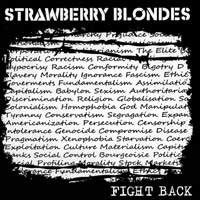 Strawberry Blondes - Fight Back (Cover Artwork)