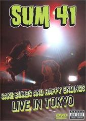 Sum 41 - Sake Bombs And Happy Endings DVD (Cover Artwork)