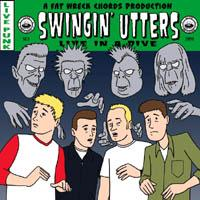 Swingin' Utters - Live in a Dive (Cover Artwork)