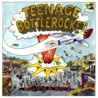Teenage Bottlerocket / The Ergs! - Under the Influence Vol. 4 [7 inch] (Cover Artwork)
