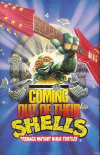 Teenage Mutant Ninja Turtles - Coming Out of Their Shells (Cover Artwork)