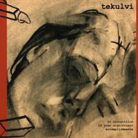Tekulvi - In Recognition Of Your Significant Accomplishments (Cover Artwork)