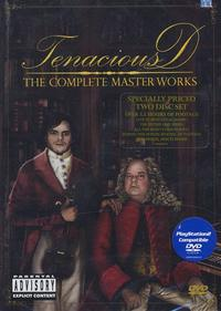 Tenacious D - The Complete Masterworks DVD (Cover Artwork)