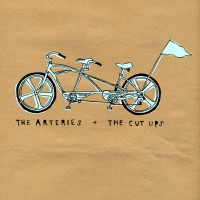 The Arteries / The Cut Ups - Split [7 Inch] (Cover Artwork)