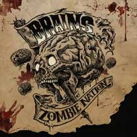 The Brains - Zombie Nation (Cover Artwork)