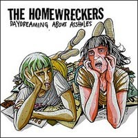 The Homewreckers - Daydreaming About Assholes [7 inch] (Cover Artwork)
