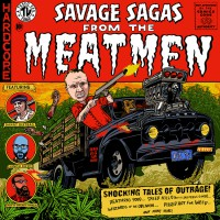 The Meatmen - Savage Sagas (Cover Artwork)