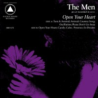 The Men - Open Your Heart (Cover Artwork)