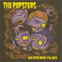 The Popsters - Our Bites Bring You Back (Cover Artwork)