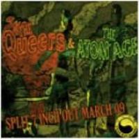 The Queers / The Atom Age - Split [7 inch] (Cover Artwork)