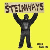 The Steinways - Gorilla Marketing (Cover Artwork)