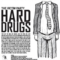 The Victim Party - Hard Drugs ... Soft Drinks [7-inch] (Cover Artwork)