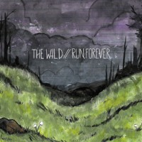 The Wild / Run, Forever - Split [7-inch] (Cover Artwork)