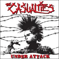 The Casualties - Under Attack (Cover Artwork)