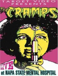 The Cramps - Live at Napa State Mental Hospital DVD (Cover Artwork)