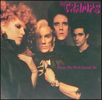 The Cramps - Songs the Lord Taught Us (Cover Artwork)