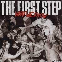 The First Step - What We Know (Cover Artwork)