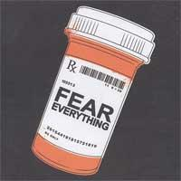 The Flaming Tsunamis - Fear Everything (Cover Artwork)