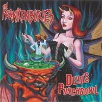 The Frankenburies - Devil's Punchbowl (Cover Artwork)