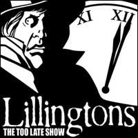 The Lillingtons - The Too Late Show (Cover Artwork)