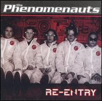 The Phenomenauts - Re-Entry (Cover Artwork)