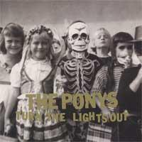 The Ponys - Turn the Lights Out (Cover Artwork)