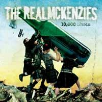 The Real McKenzies - 10,000 Shots (Cover Artwork)