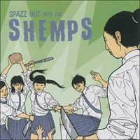 The Shemps - Spazz Out With The Shemps (Cover Artwork)