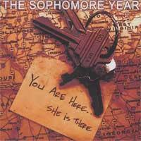 The Sophomore Year - You Are Here...She Is There (Cover Artwork)