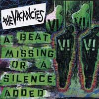 The Vacancies - A Beat Missing or a Silence Added (Cover Artwork)