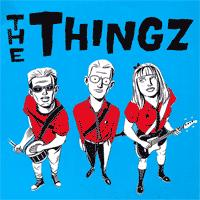 The Thingz - The Thingz (Cover Artwork)