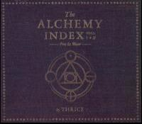 Thrice - The Alchemy Index: Volumes I & II: Fire & Water (Cover Artwork)