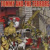 Tommy and the Terrors - Unleash the Fury (Cover Artwork)