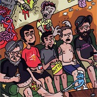 Too Many Daves - Dawn of the Daves [7-inch] (Cover Artwork)