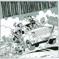 Total Fury / Pandamonium - Tour 2007 [7 inch] (Cover Artwork)