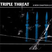 Triple Threat - A New Chapter (Cover Artwork)