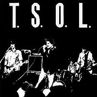T.S.O.L. - TSOL/Weathered Statues (Cover Artwork)