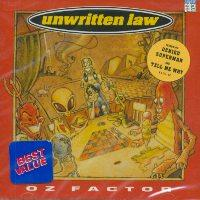Unwritten Law - Oz Factor (Cover Artwork)