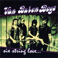 Van Buren Boys - Six String Love... (Cover Artwork)