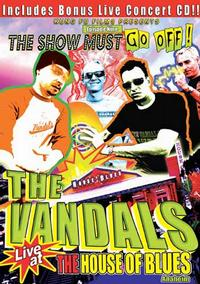 The Vandals - Live At The House Of Blues DVD (Cover Artwork)