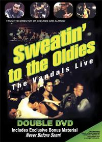 The Vandals - Sweatin' to the Oldies DVD (Cover Artwork)
