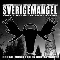 Various - Sverigemangel Punk and Hardcore Compilation (Cover Artwork)