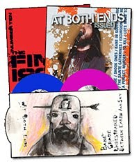 Various - At Both Ends [7 inch + zine] (Cover Artwork)