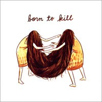 Various - Born to Kill [7-inch] (Cover Artwork)