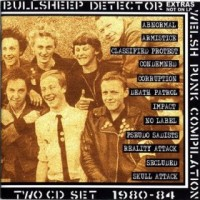 Various - Bullsheep Detector: Welsh Punk Compilation 1980-1984 (Cover Artwork)