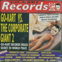 Various - Go-Kart Vs. The Corporate Gian (Cover Artwork)