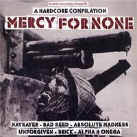 Various - Mercy for None: A Hardcore Complilation [7 inch] (Cover Artwork)