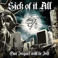 Various - Our Impact Will Be Felt: A Tribute to Sick of It All (Cover Artwork)